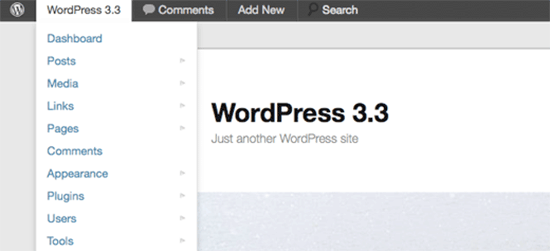 WordPress 3.3 – Sonny