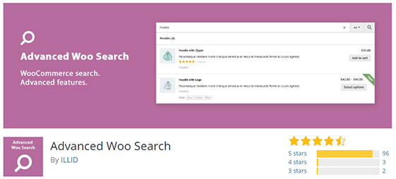 Advanced Woo Search