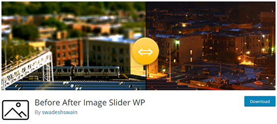 Before After Image Slider WP