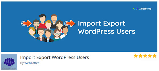 Плагин Import Export WordPress Users