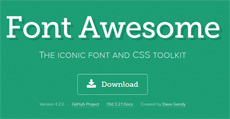 Шрифт Font Awesome