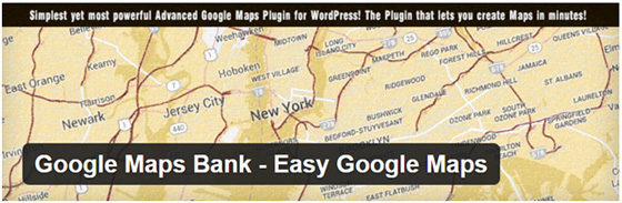 Плагин Google Maps Bank