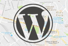 карта Google Map в WordPress