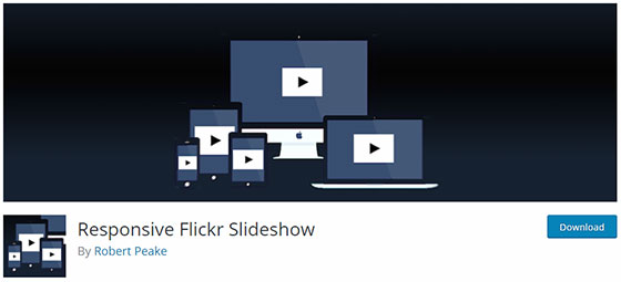 Responsive Flickr Slideshow