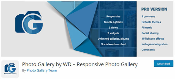 Photo Gallery by WD