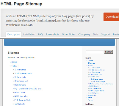 3 Column page wordpress