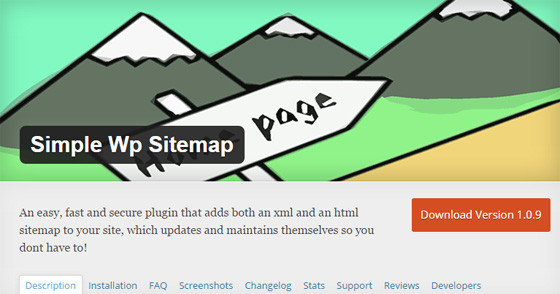 Плагин Simple Wp Sitemap