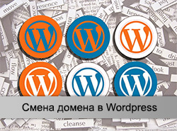 Смена WordPress домена