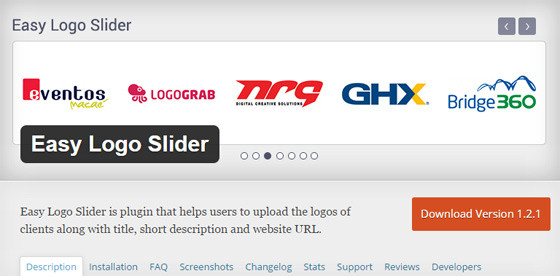 Плагин Easy Logo Slider