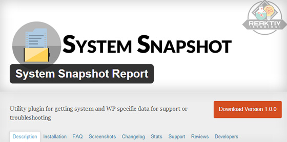 System Snapshot Report