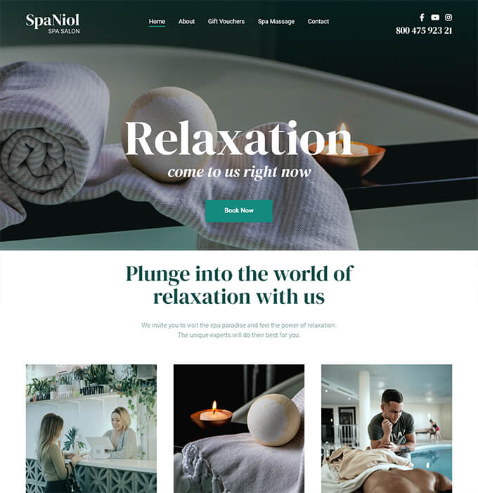 SpaNiol - Charming and Relaxing Spa