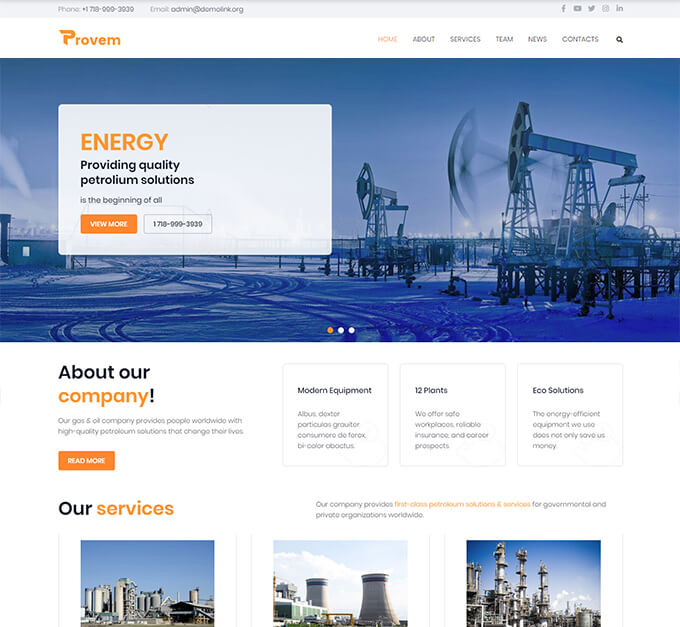 Provem - Reliable And Solid Energy