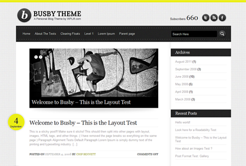 Busby Theme