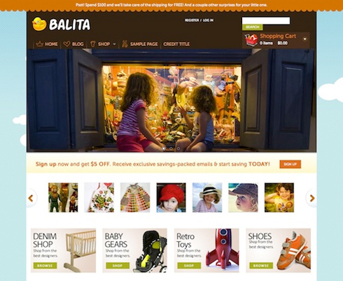 E-Commerce Theme: Balita