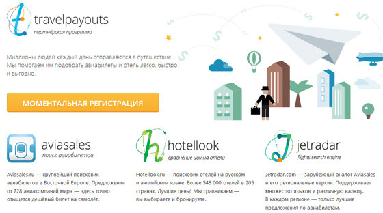 Плагин Travelpayouts - Flights and Hotels Search