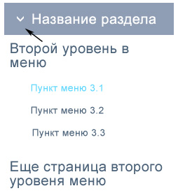 Page Links To для меню